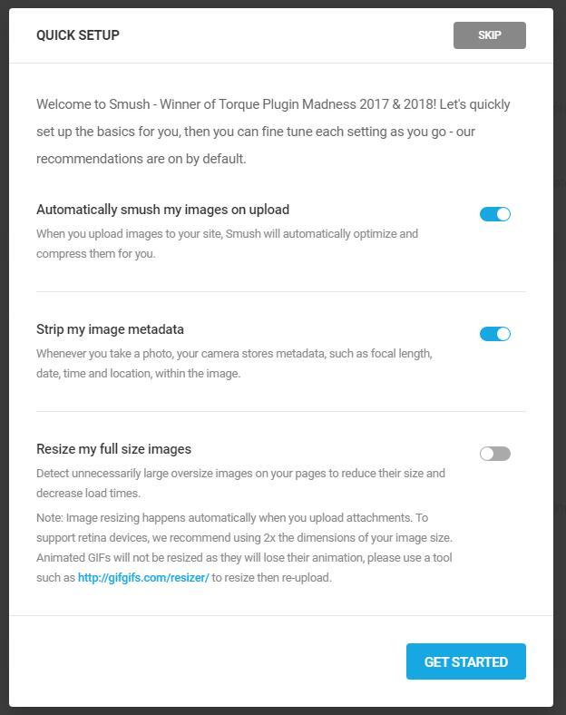 Wordpress必装图片优化插件Smush 3