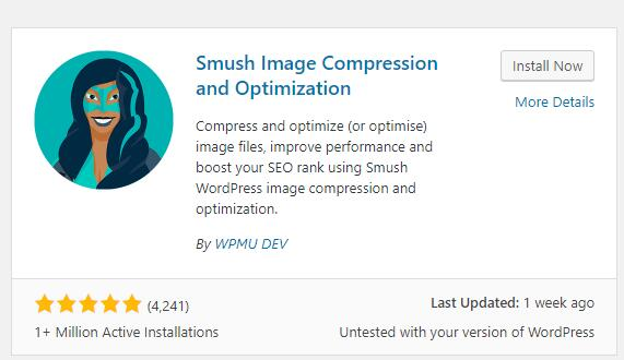 Wordpress必装图片优化插件Smush 1
