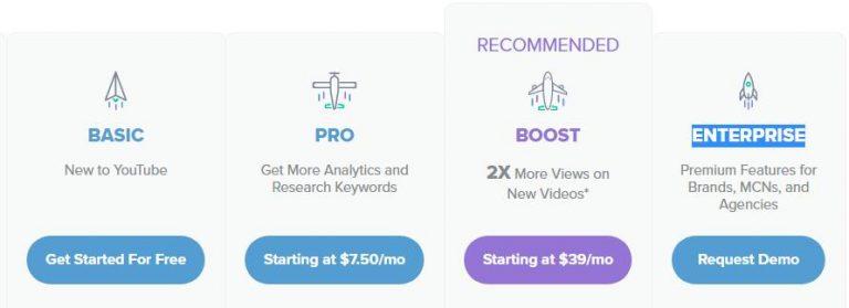 YouTube视频营销优选插件vidIQ——注册篇 1