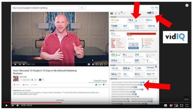 意外发现博主用了一个youtube工具分析视频